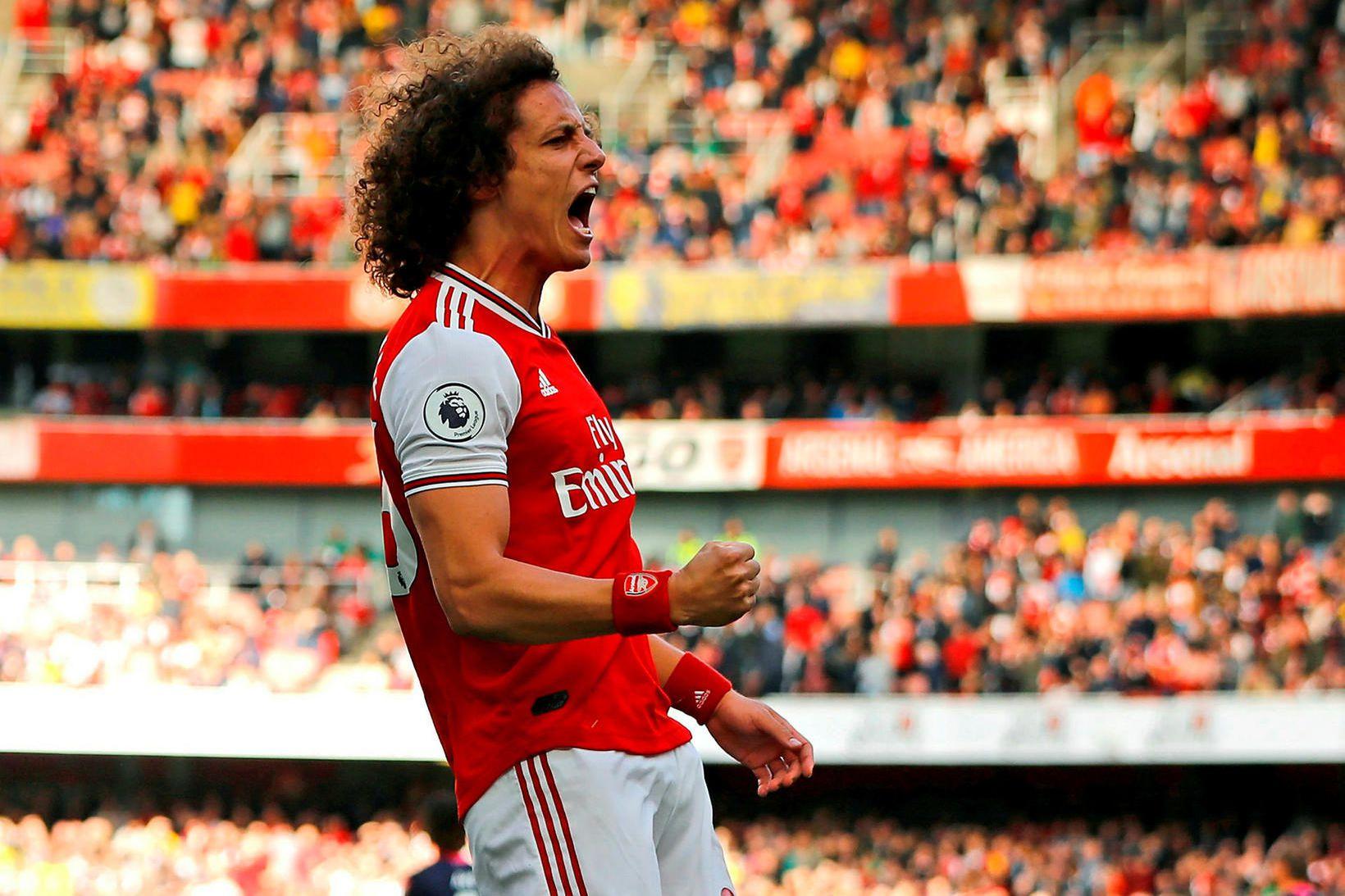 David Luiz leikur með Arsenal.