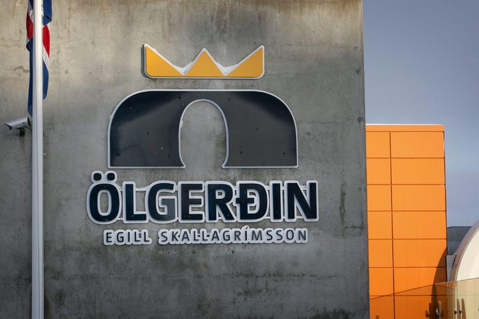 Ölgerðin Egill Skallagrímsson er að Grjóthálsi.