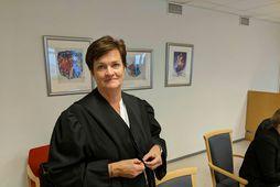 Mette Yvonne Larsen spáir 13 til 15 ára dómi í Mehamn-málinu.