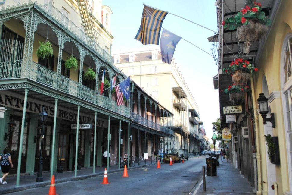 Skotárásin átti sér stað franska hverfinu í New Orleans sem ...