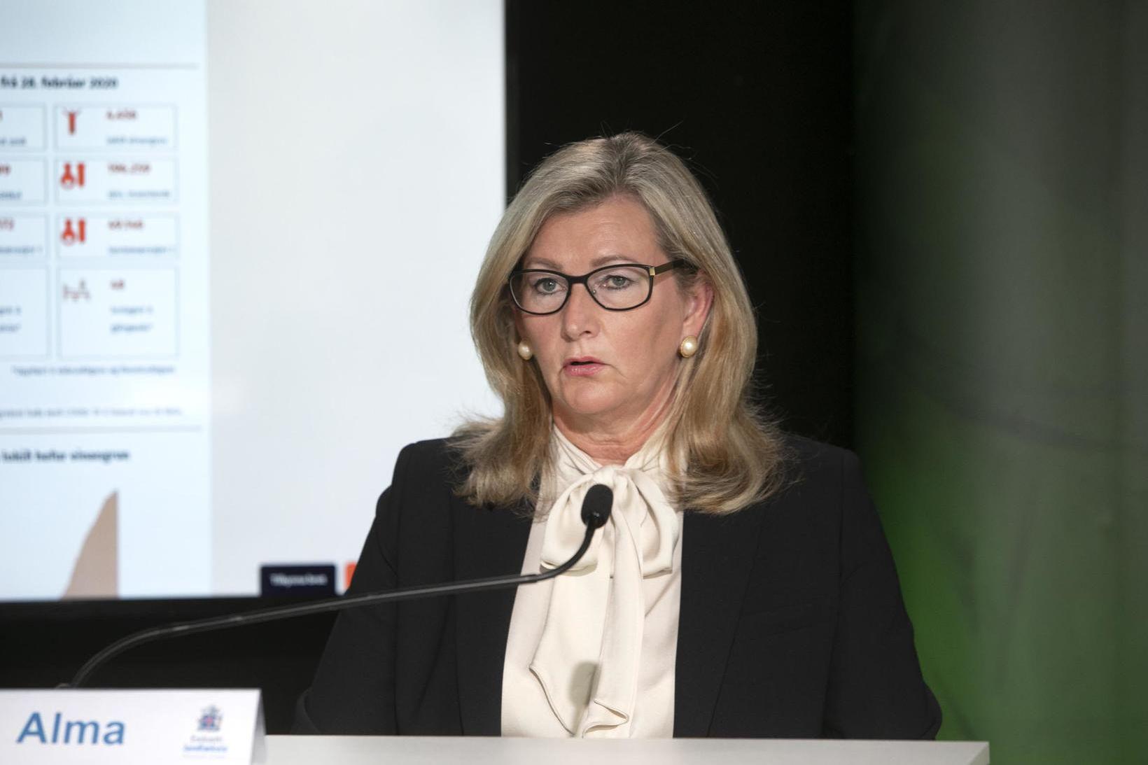 Alma Möller.