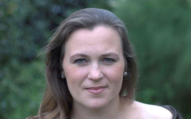 Nathalía Druzin Halldórsdóttir flytur aríu dagsins.