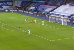 Mörkin: Leicester skoraði falleg mörk gegn Chelsea