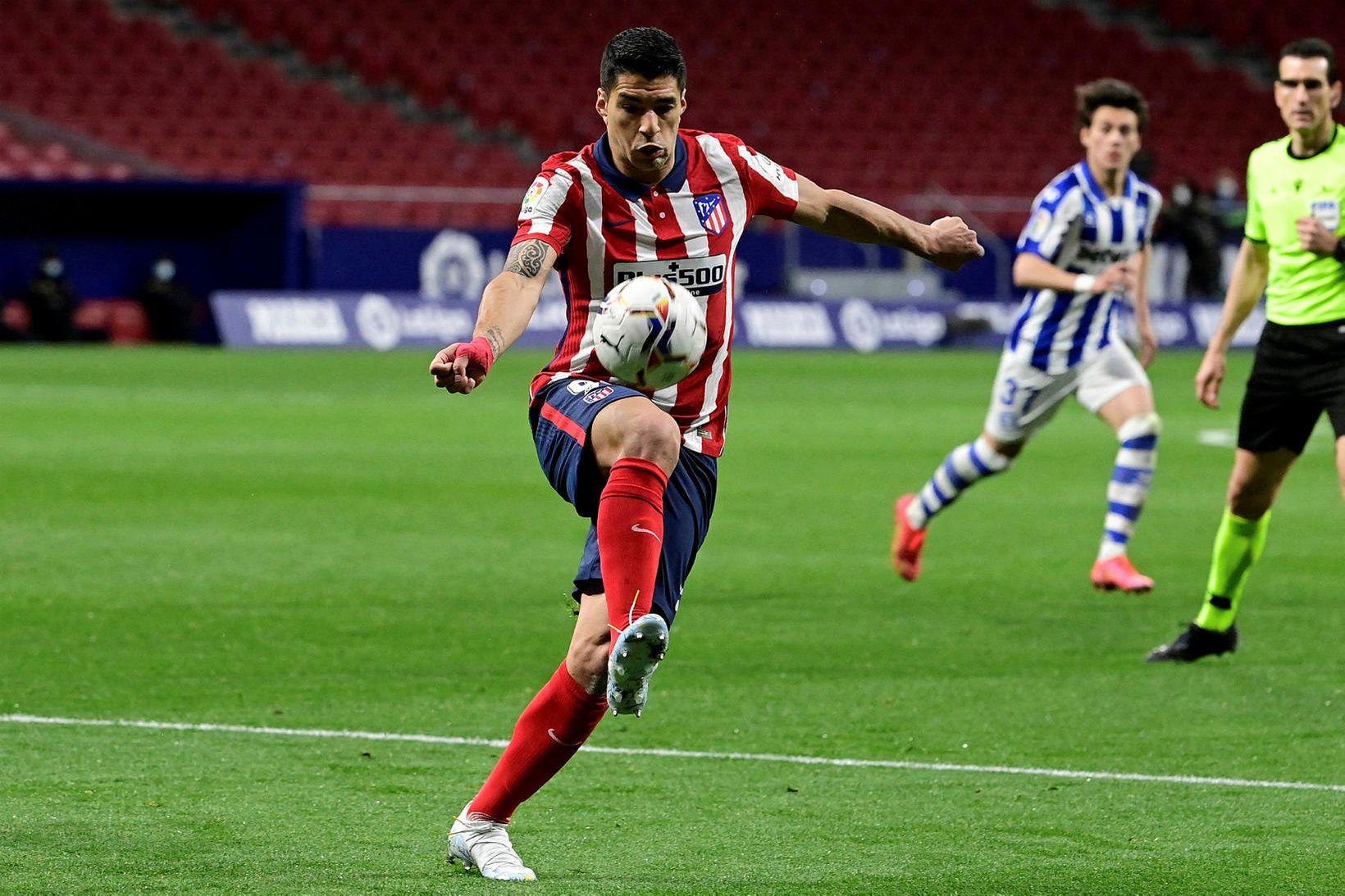 Luis Suárez er að glíma við meiðsli.
