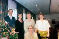 Með börnunum Sigfús, Alda, Dunna og Gréta ásamt Önnu á 80 ára afmæli hennar, árið 1998.