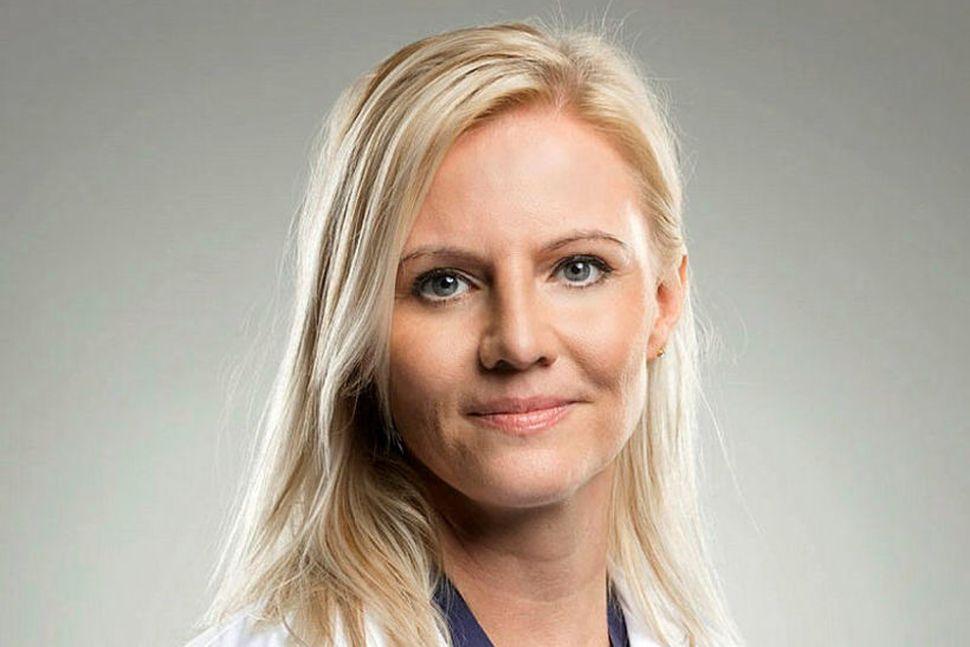 Jenna Huld Eysteinsdóttir húðlæknir segir að þau geri mikið af ...