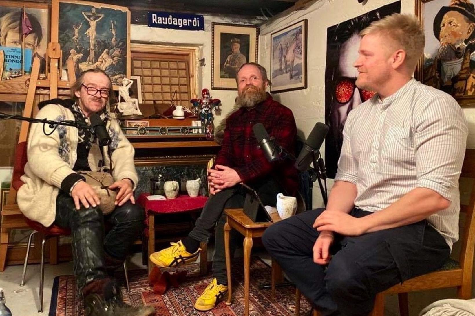 Tryggvi Hansen er gestur í hlaðvarpsþættinum Þvottahúsið.