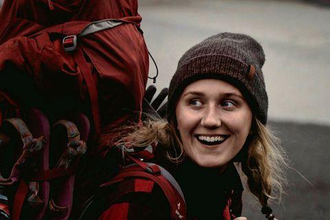 Sólveig Sveinbjörnsdóttir er fjallaleiðsögumaður.