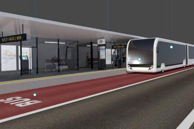 Afstaða til borgarlínunnar er afar breytileg eftir stjórnmálaskoðun. Borgarlínan, a proposed bus rapid transit in ...