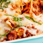 Ómótstæðilegt tortellini-lasagna