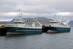 Grundarfjarðarskipin Farsæll SH 30 og Sigurborg SH komu til hafnar í dag með ágætan afla.