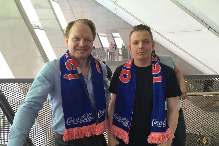 Ómar Grétarsson og Indriði Grétarsson