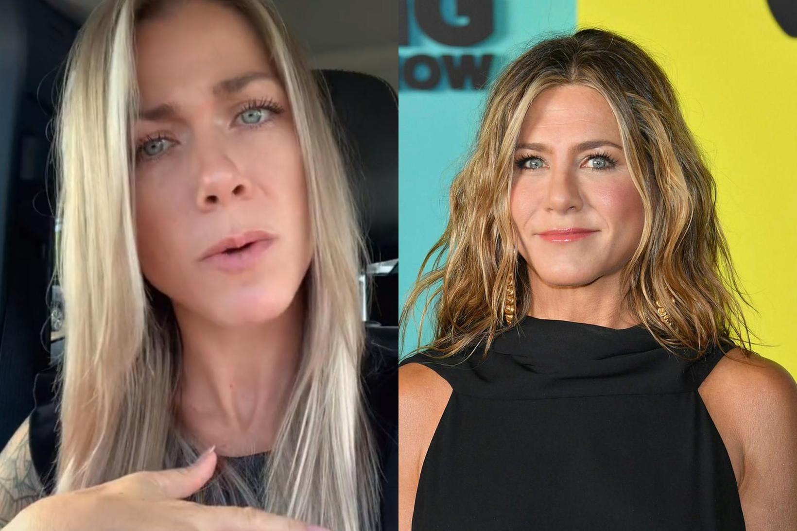 Lisa Tranel og Jennifer Aniston eru líkar.