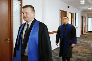Jón H. B. Snorrason saksóknari og Vilhjálmur H. Vilhjálmsson hæstaréttarlögmaður.