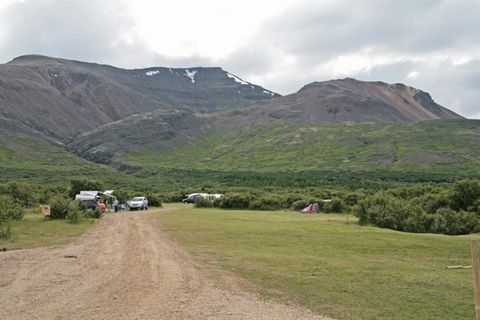 Selsskógur, Skorradalur Camping ground