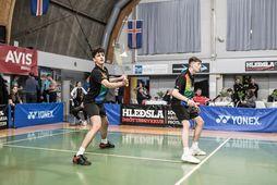 Keppni í badminton fer fram í TBR-húsunum.