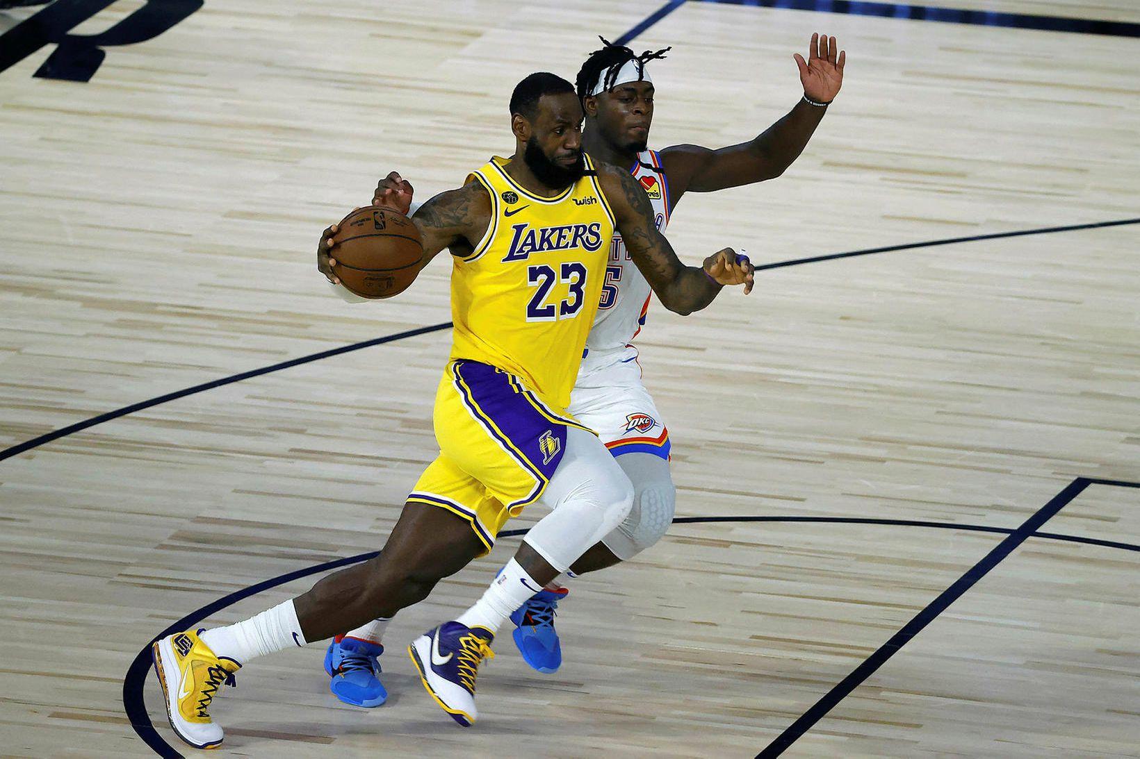 LeBron James gat ekki komið í veg fyrir tap Lakers …