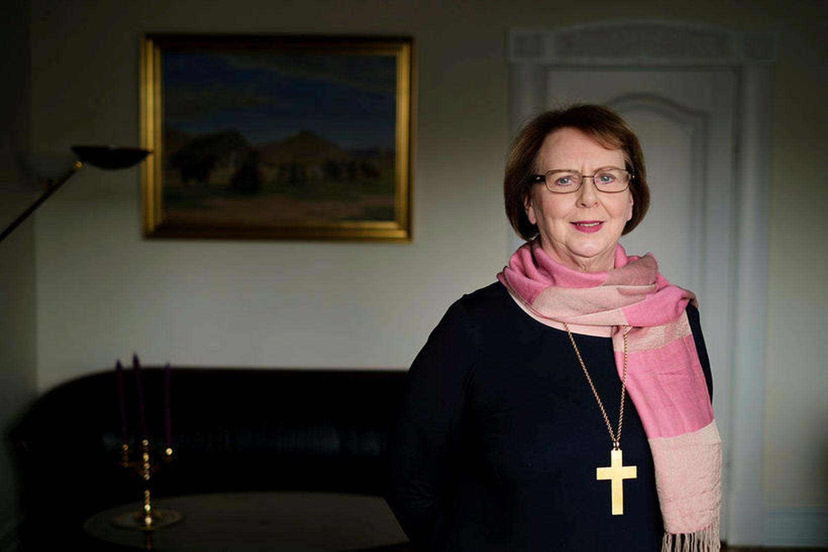 Agnes M. Sigurðardóttir, biskup Íslands.