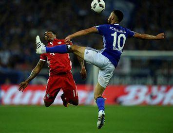 Nabil Bentaleb í leik með Schalke.
