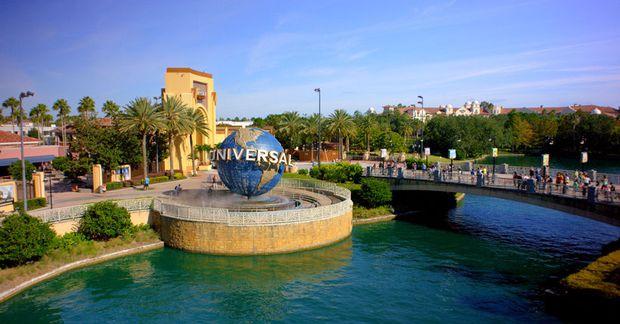 Það þyrfti einbeittan vilja til að láta sér leiðast í Universal í Orlando.