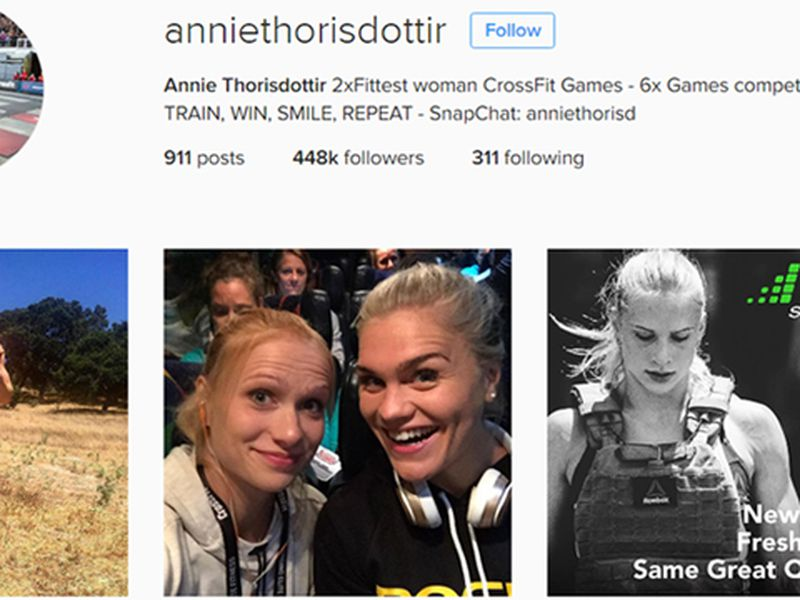 Annie Mist who won the women's CrossFit Games in 2012 might be Iceland's most famous Icelander.