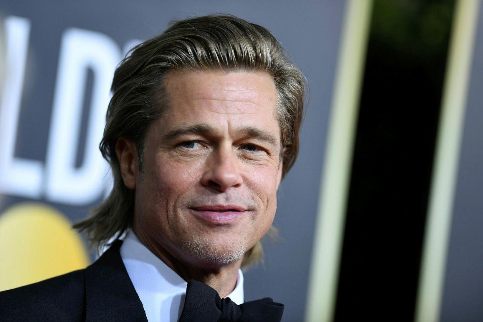 Leikarinn Brad Pitt.