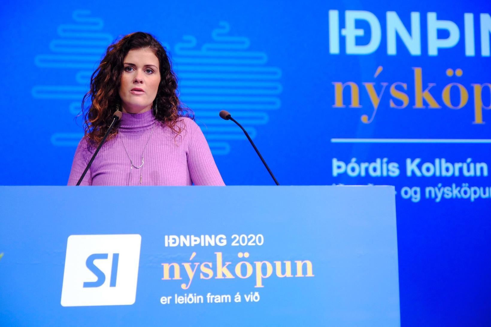 Þórdís Kolbrún Reykfjörð Gylfadóttir.