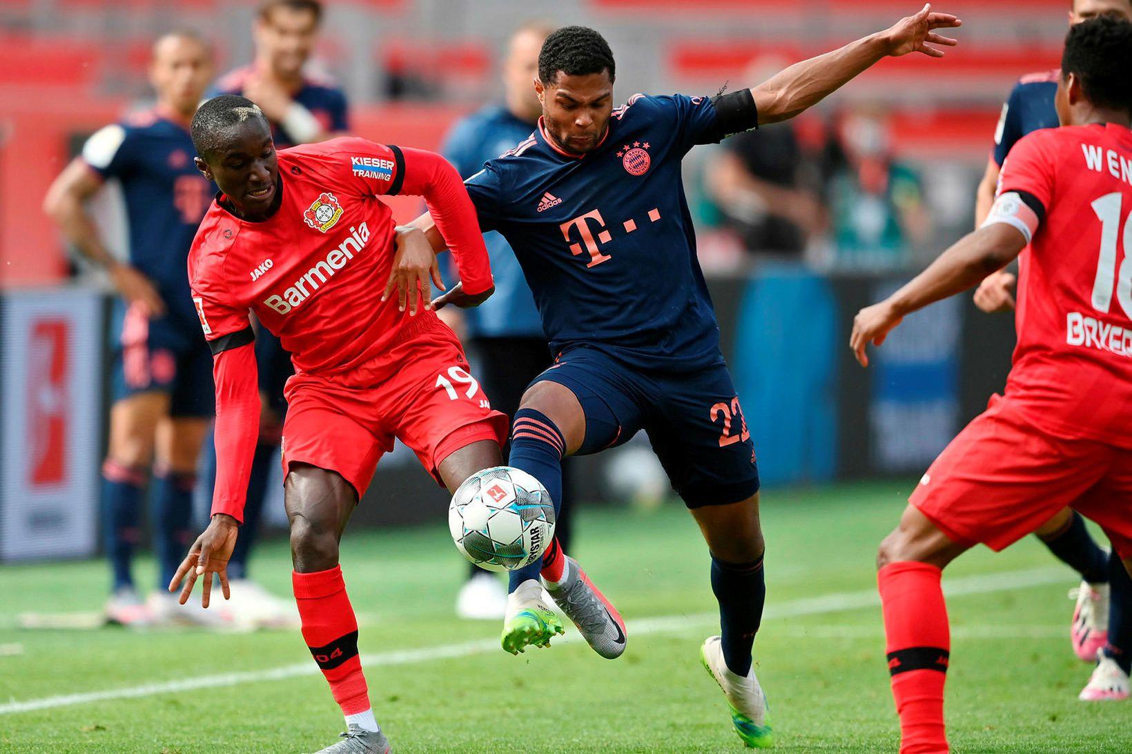 Bayern München vann í miklum markaleik.