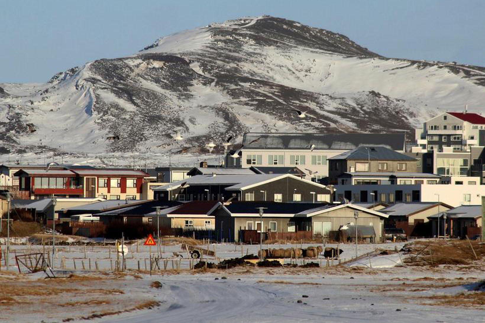 VÍS lokaði útibúi sínu í Grindavík í ár.