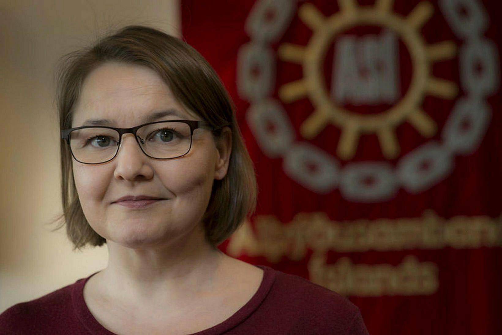 Drífa Snædal vill tryggja atvinnuleitendum uppbót fyrir jólin.