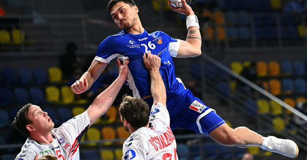 Kristján Örn Kristjánsson var í mjög sterku landsliði sem vann til bronsverðlauna á HM U19 …
