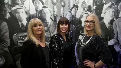Dagmar Haraldsdóttir, Anna Björk Árnadóttir og Sandra Ýr Dungal.