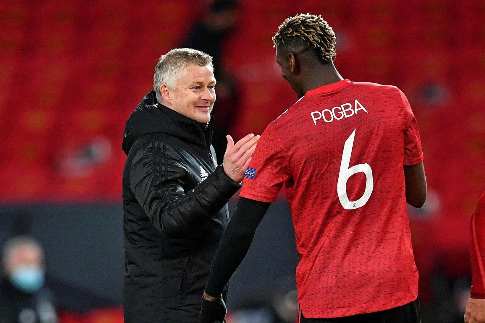 Paul Pogba hefur reglulega verið orðaður við brottför frá United …