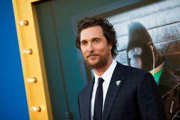 Matthew McConaughey segir frá láti föður síns í bók sinni.