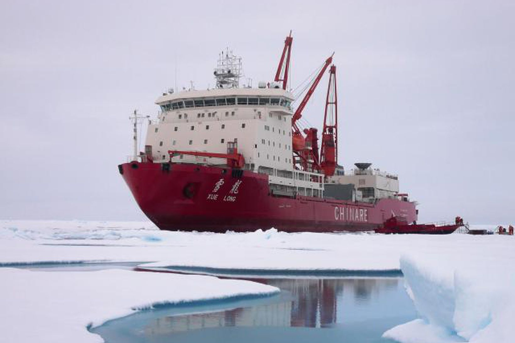 Snædrekinn er 167 m að lengd og 23 m að …