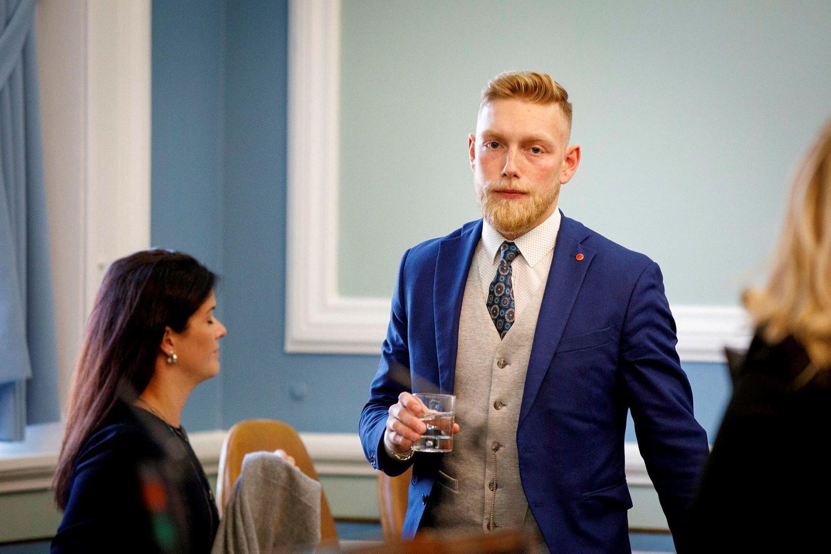 Bjartur Aðalbjörnsson, varaþingmaður Samfylkingarinnar, sveitarstjórnarmaður og knattspyrnumaður frá Vopnafirði.