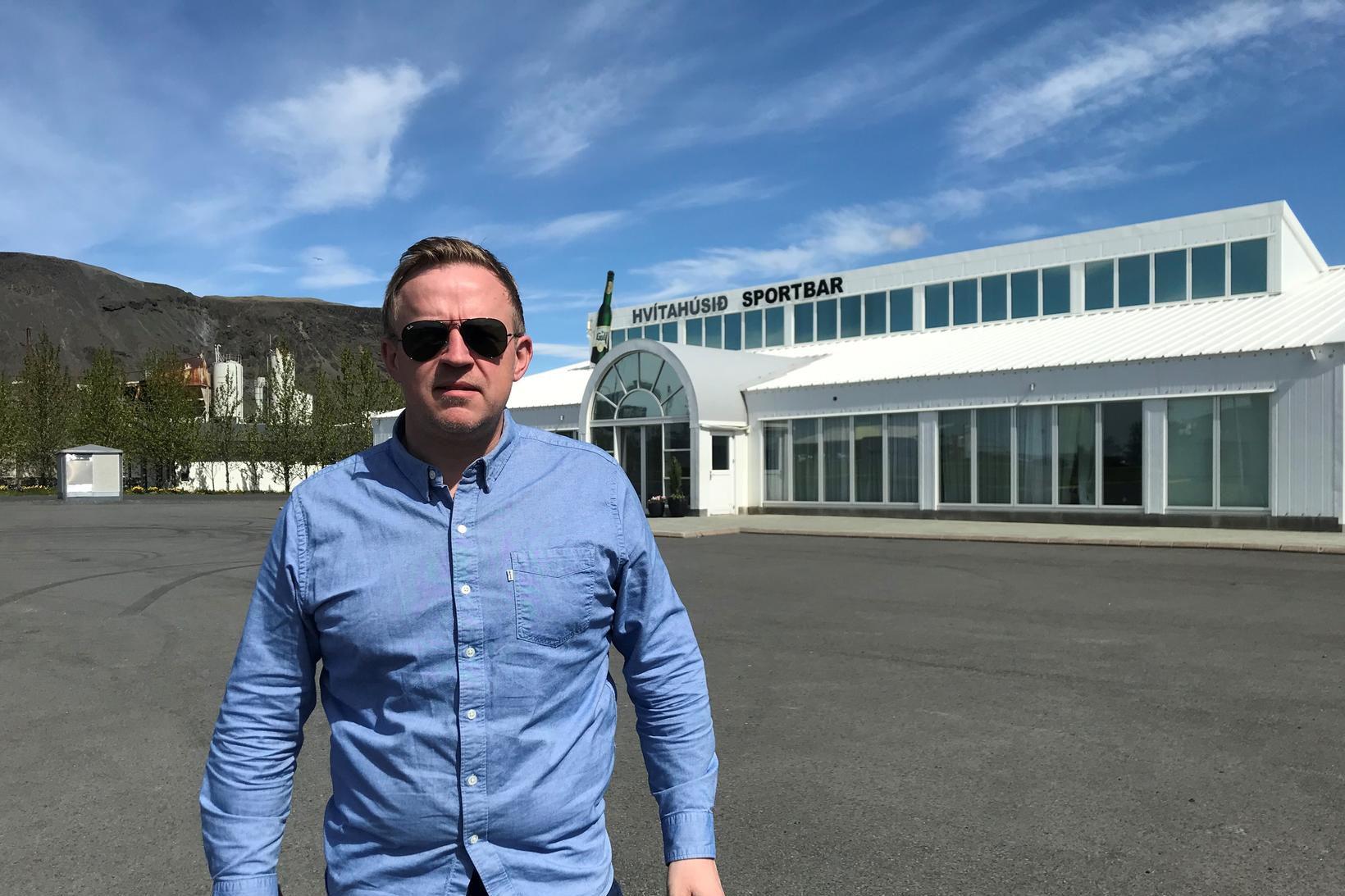 Einar Björnsson hljóð- og veitingamaður á Selfossi.