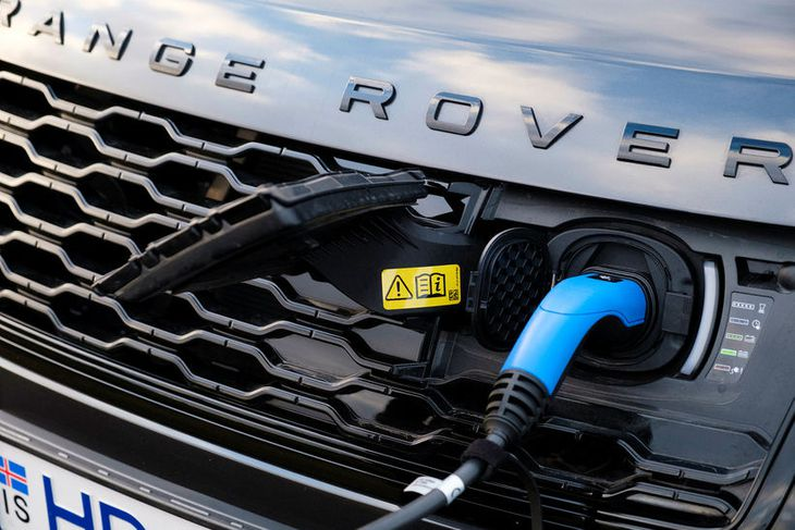 Landrover Range Rover.