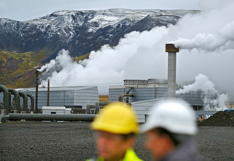 Hydrogen will be produced by the Hellisheiði Geothermal Power Plant.