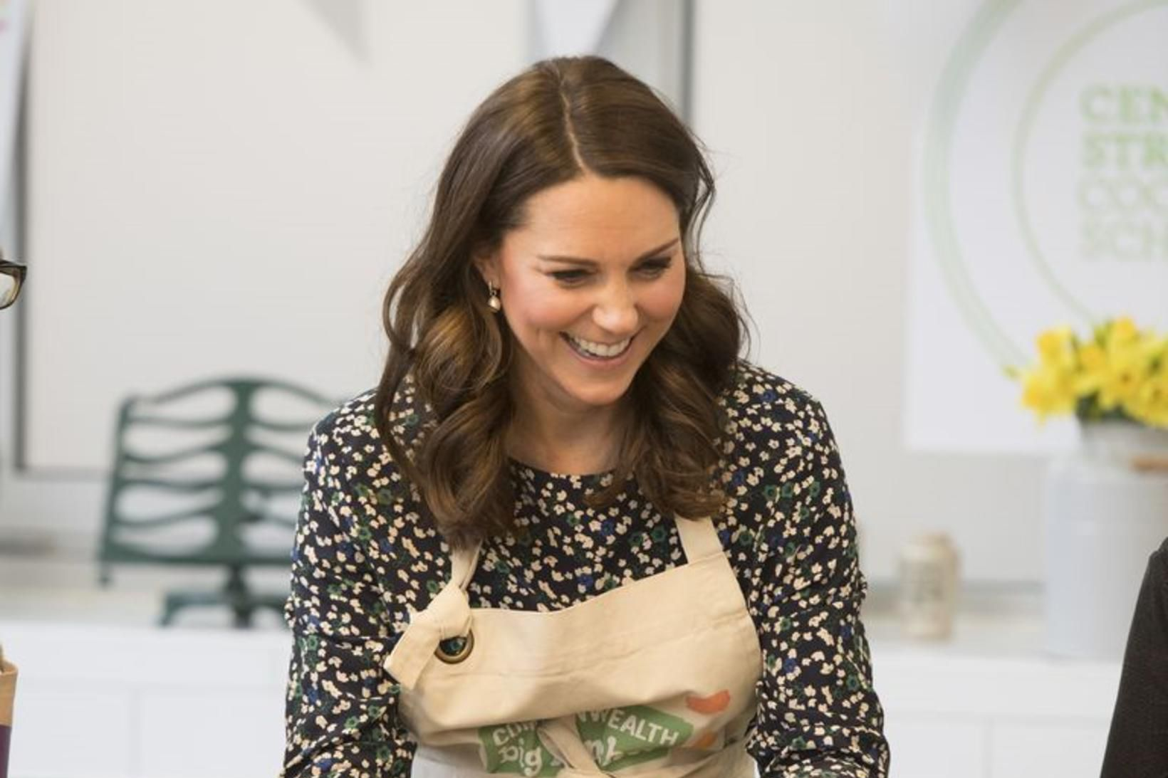 Kate Middleton er frábær kokkur og stendur vaktina daglega í …