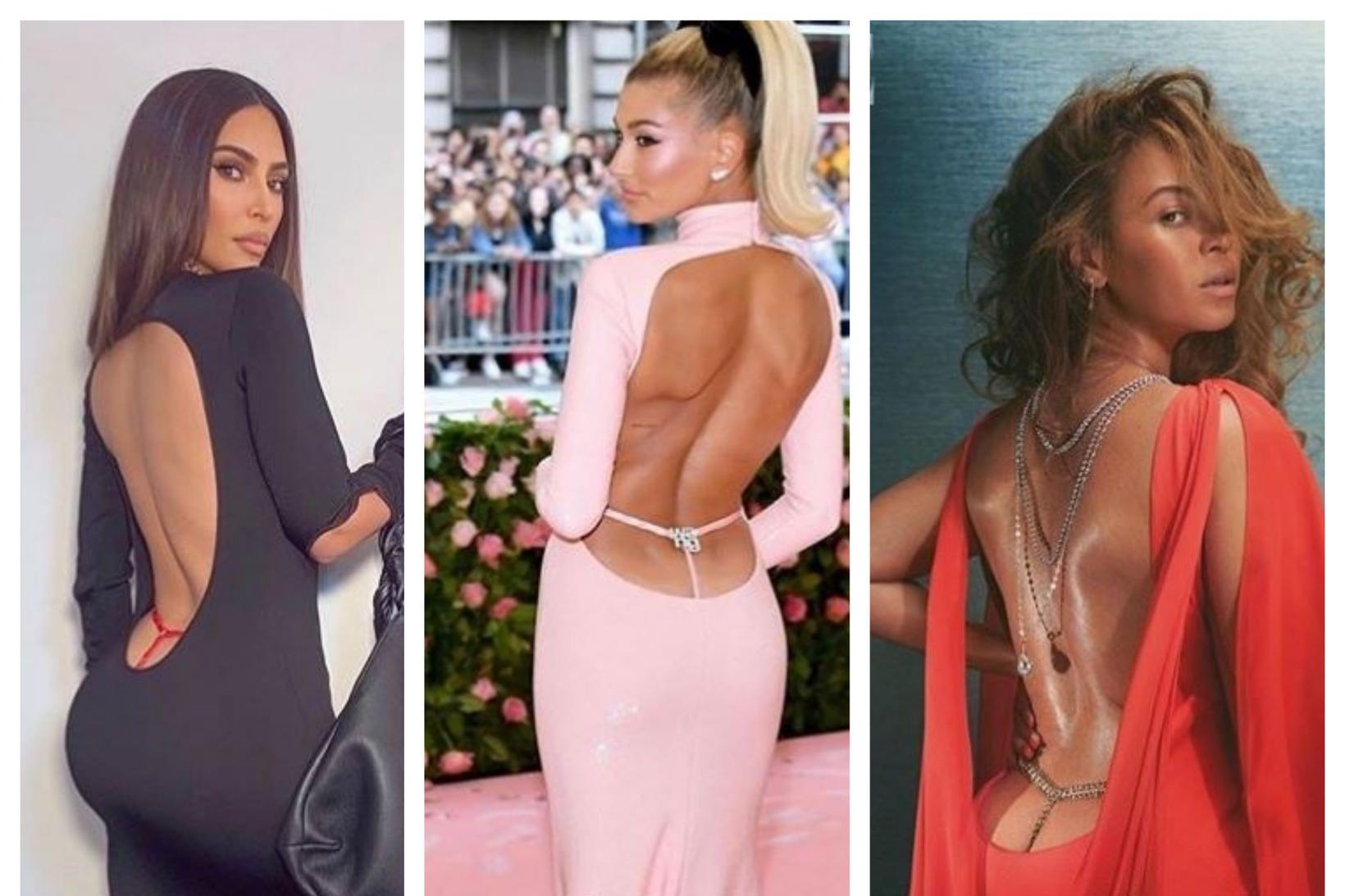Kim Kardashian, Hailey Bieber og Beyoncé í nýjustu tísku.