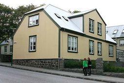 Höfuðstöðvar Baugs Group við Túngötu.