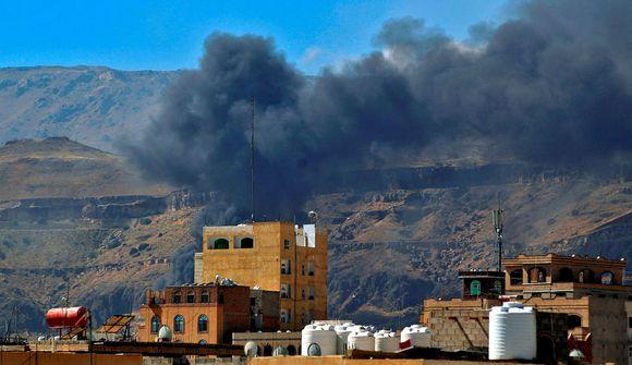 Loftárásir gerðar á höfuðborg Jemen