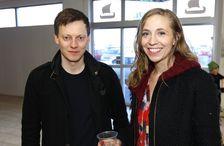Jón Trausti Reynisson og Ingibjörg Dögg Kjartansdóttir.