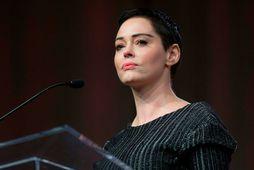 Rose McGowan var ein af fyrstu konunum sem sökuðu Harvey Weinstein um nauðgun.
