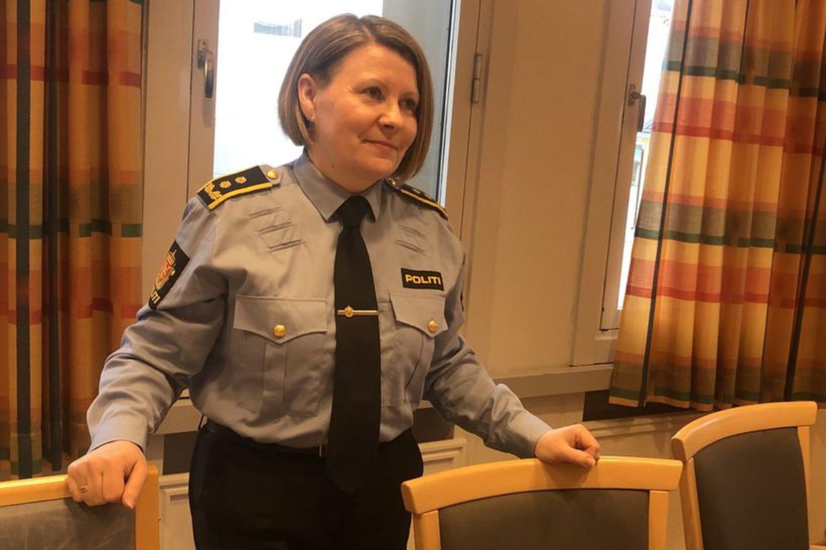 Anja Mikkelsen Indbjør, saksóknari lögregluembættisins í Finnmörku, segir rannsókn Mehamn-málsins …