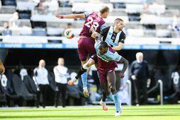 Michael Antonio í leik með West Ham gegn Newcastle.