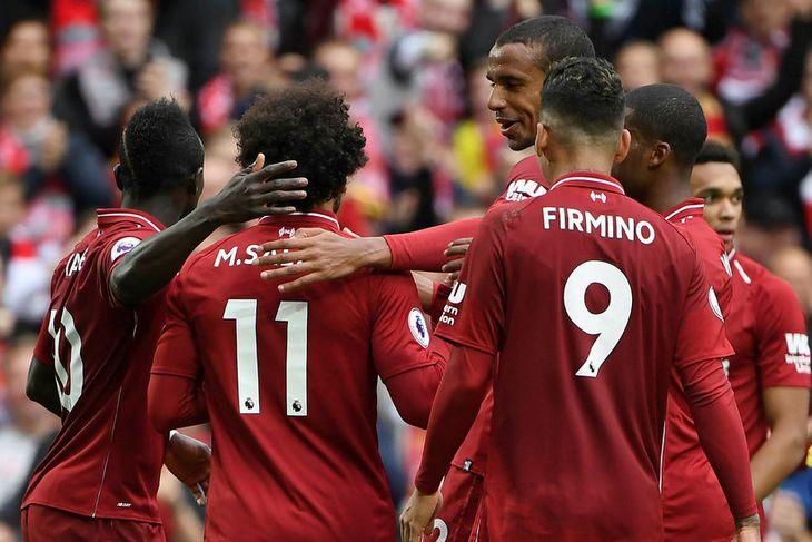 Liverpool átti ekki í vandræðum með Southampton.