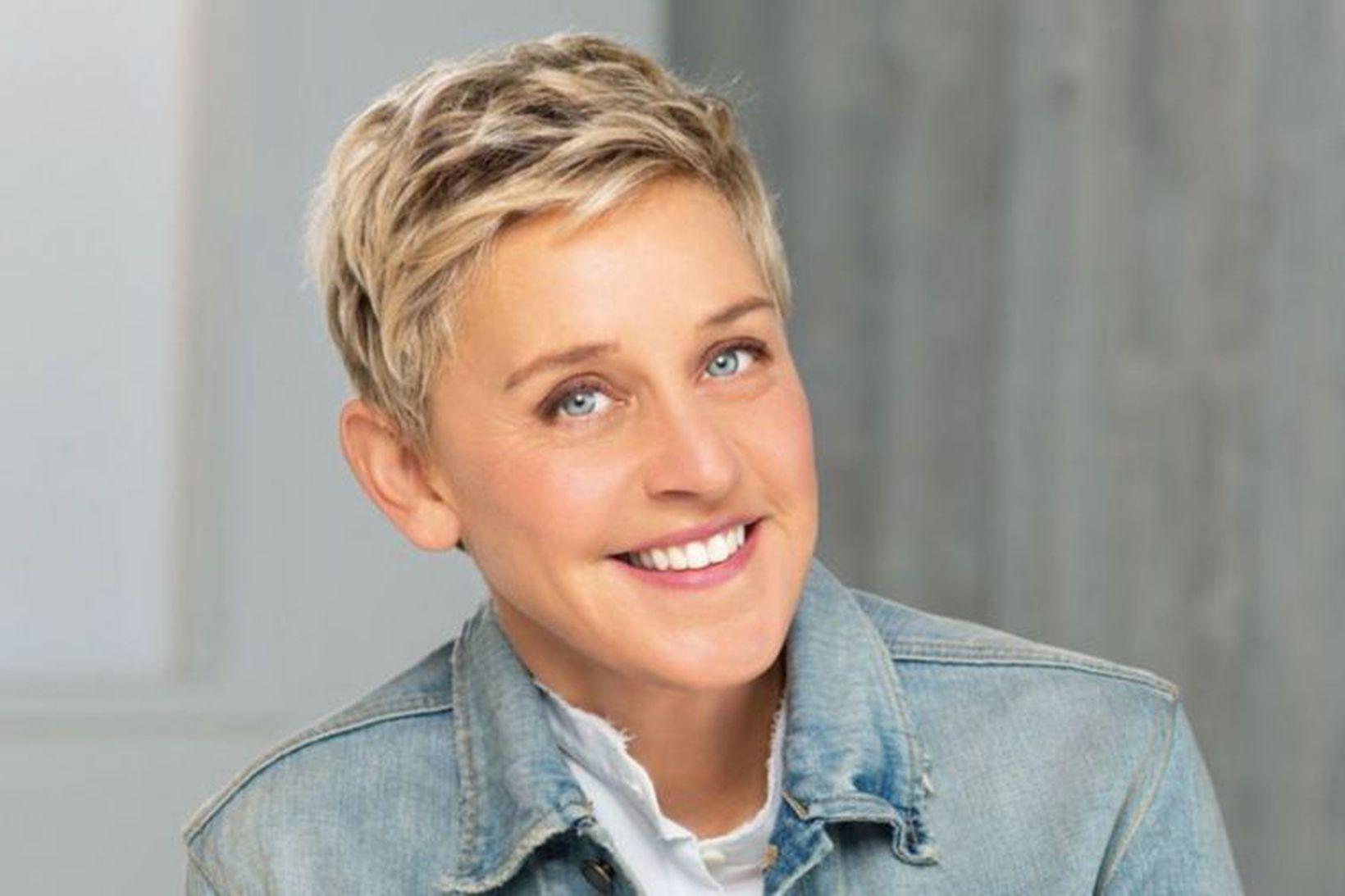 Þáttastjórnandinn Ellen DeGeneres setur á markað húðvörur þann 26. október …
