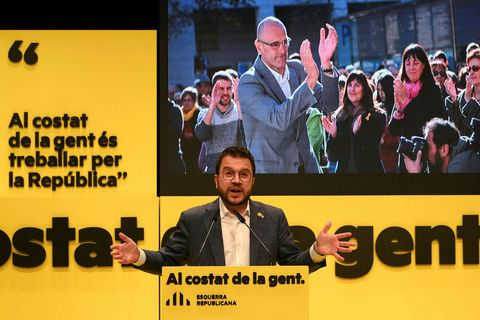 Pere Aragones er talinn líklegastur til að taka við sem forseti katalónsku heimastjórnarinnar. Hann hefur …